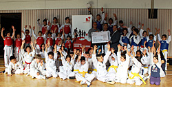 Integration mit Taekwondo Training beim Judo Club Pforzheim e.V.