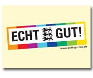 Postkarte ECHT GUT!