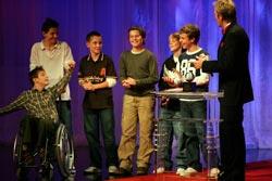 2. Platz: D-Jugend des SC Neuburgweier