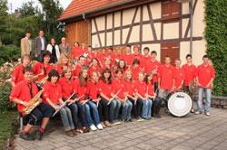 1. Platz: Jugendkapelle Gemeinde Krauchenwies