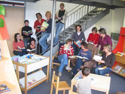 3. Platz: Büchereiteam Amtzell