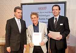 3. Platz: Dr. Martin Sowa