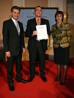 2. Platz: Werkschutz-Team in Biberach a. d. Riss