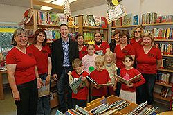 3. Platz: Katholische öffentliche Bücherei Leutershausen