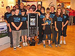 1. Platz: Jugendfeuerwehr Rems-Murr - Projektgruppe Gewalt ist keine Lösung